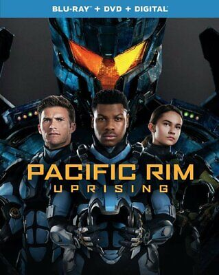 Pacific Rim Uprising (Blu-ray + DVD + Digital 2018) BRAND NEW FREE SHIPPING