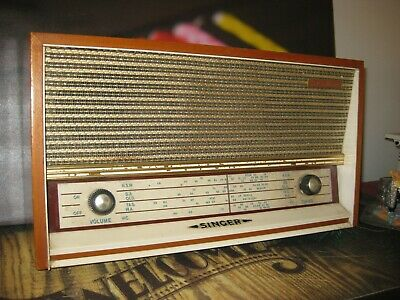 Original Vintage Singer Radio  Instrument. Fully Functional.