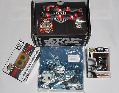 SMUGGLERS BOUNTY LOOT CRATE Funko Star Wars Exclusives Mixed Force Awakens Lot