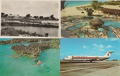 10 used/unused Cayman islands PPC's of many different scenes II