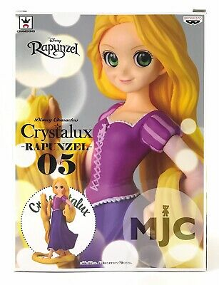 Disney Characters Crystalux Rapunzel Banpresto Japan Crane Game Exclusive