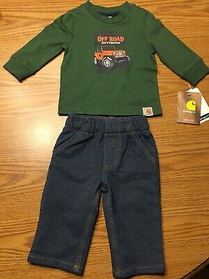 Baby Boys 3M Carhartt Shirt And Pants Combo! NEW With Tags!