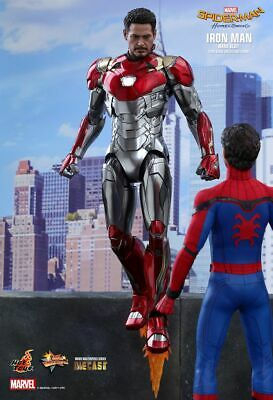 (SA) Hot Toys 1/6 Marvel Spider-Man Homecoming MMS427D19 Iron Man MK47