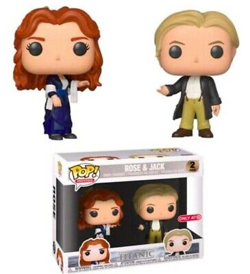 Funko Pop! Rose and Jack 2-Pack, Movies Titanic Target EXCLUSIVE Pre-Order
