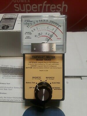 TriField Meter Model 100XE NEW in box Best Electromagnetic Available Made in USA