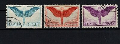 P108109 / SUISSE / SWITZERLAND / AIRMAIL Y&T # 10a / 12a / USED 145 €