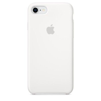 White, GENUINE OFFICIAL ORIGINAL Apple Silicone Case Cover iPhone 7 8 RRP $39
