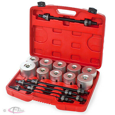 New Bearing Seal Bush Insertion Extraction Universal Press and Pull Sleeve Kit
