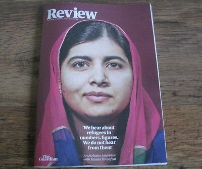 REVIEW MAGAZINE MALALA YOUSAFZAI COVER and INTERVIEW Jan 19 2018.
