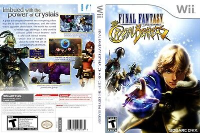 Nintendo Wii Replacement Game Case and Cover Final Fantasy Crystal Chronicles