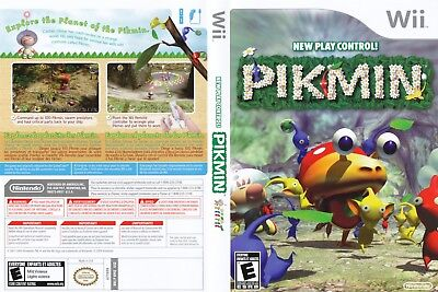 Nintendo Wii Replacement Game Case and Cover Pikmin