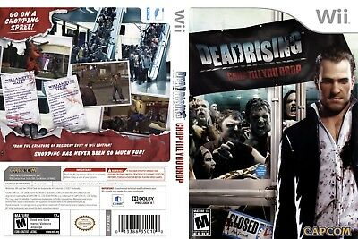 Nintendo Wii Replacement Game Case and Cover Dead Rising: Chop Till You Drop