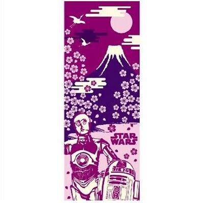 STAR WARS TENUGUI Japanese Cotton Fabric Hand Towel MADE IN JAPAN 90X34cm T13