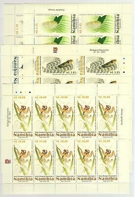 A106543/ Namibia / Y&t # 988 / 992 (Sheets) Neufs ** / Mnh Complete 180 €