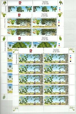 A106558/ Namibie / Namibia / Flora / Y&t # 919 / 922 (Sheets) Mnh Complete
