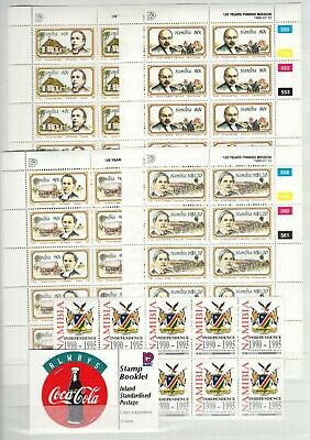 A106560/ Namibia / Y&t # 749 / 756 (Sheets) – C744 – Bf23 Mnh Complete
