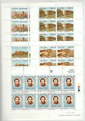 A106563/ Namibia / Y&t # 780 / 784 – 798 / 801 (Sheets) – C802 Mnh Complete 103€