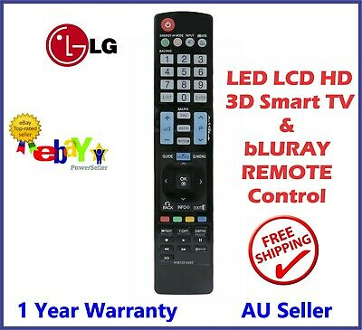 LG TV Remote Control AKB73615309 for 47LM6200 55LM7600 60LM6700 - Brand New