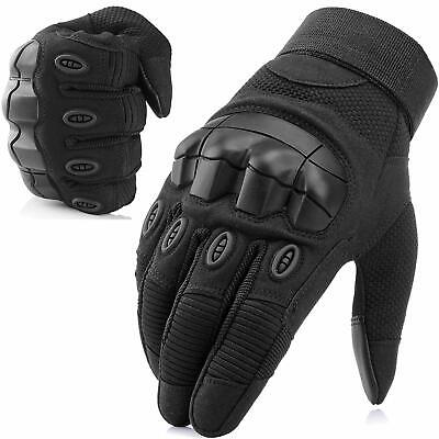 Touch Screen Hard Knuckle Full Finger Gloves Military Tactical Airsoft Outdoor