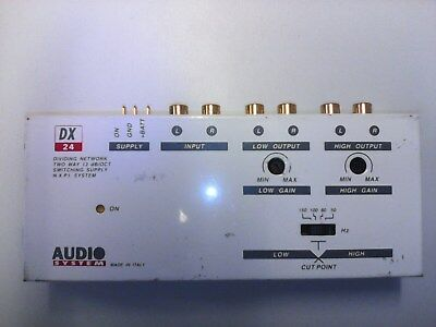 Crossover Audio System DX 24