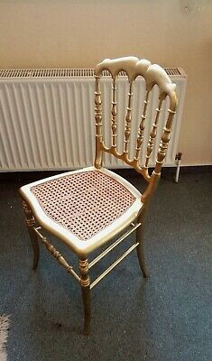 Echter Chiary Vary Chair Um 1910 Bukholz Vergoldet Gilded Restored