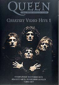 Queen: The DVD Collection Greatest Video Hits 1 Dvd Brand New & Factory Sealed