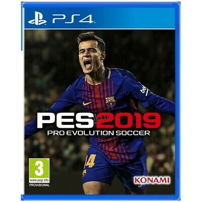 Video Gioco Pes 2019 Pro Evolution Soccer Ps4 Play Station 4 Multilingue Italian