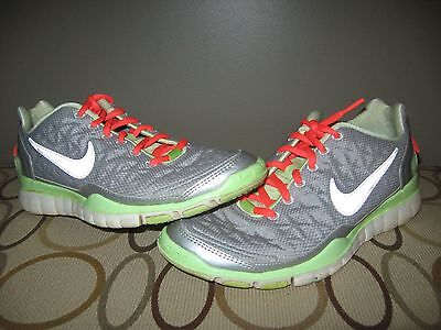 buy popular 26e5d 7bc11 NIKE WOMEN'S FREE TR Fit 2 Shield Training Shoes H2O Repel Gray Size 8 GUC