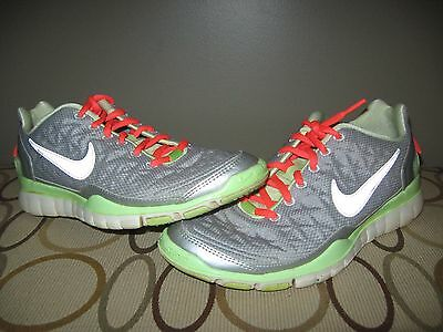 promo code 3f284 7c3c5 Nike Women s Free TR Fit 2 Shield Training Shoes H2O Repel Gray Size 8 GUC