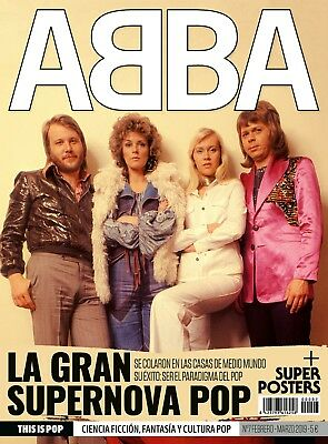 LATEST ISSUES!! ABBA Full Special Magazine 30 pages + Poster Feb/March 2019