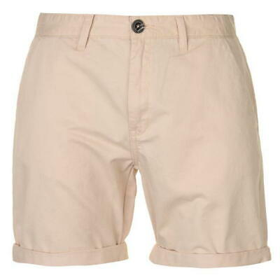 6d9447386 Pierre Cardin Colour Chino Shorts Mens Beige Summer Holiday Shorts UK XL