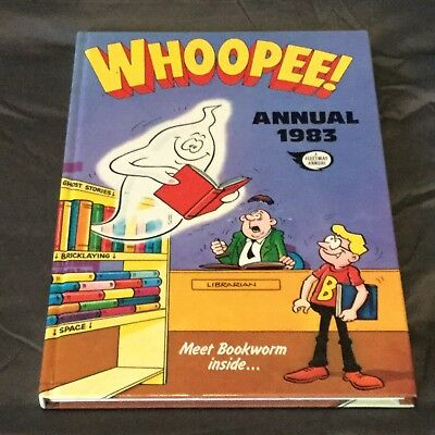 ⭐️ 'Whoopee!' Vintage Annual 1983 Unclipped Superb Condition!! ⭐️