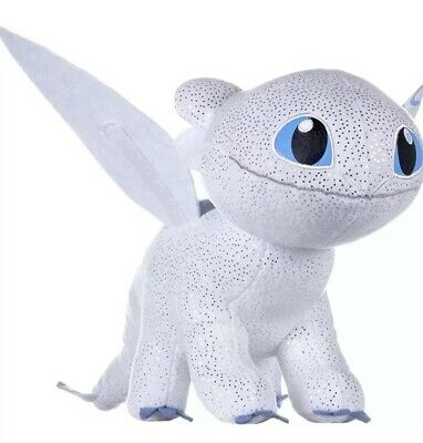 How To Train Your Dragon Light Fury Soft Plush Toy New 18inch