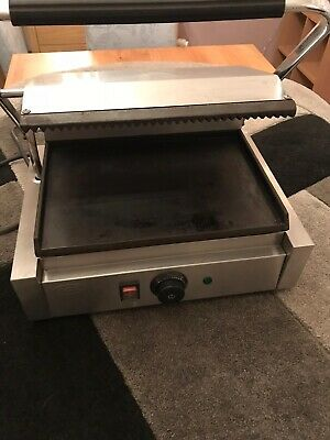 ACE Commerical Panini Maker, Contact Grill Toaster, Sandwich Maker