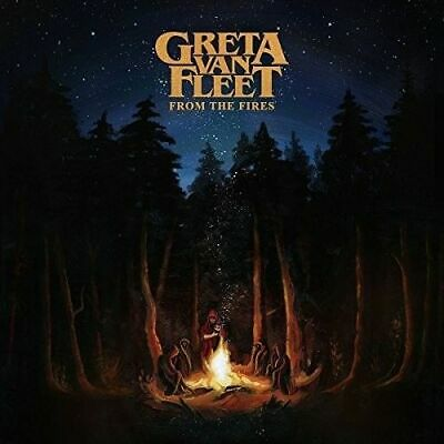 From the Fires by Greta Van Fleet (CD, Nov-2017, Republic)