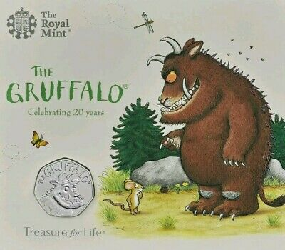 NEW  2019 UK The Gruffalo®  Royal Mint Pack Sealed . Released (18.02.19)