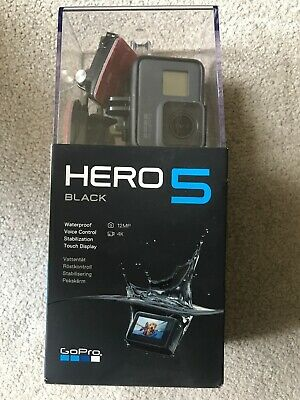 GoPro Hero5 Black Action Camera 12MP 4K UHD Waterproof - Dispatch to UK Only
