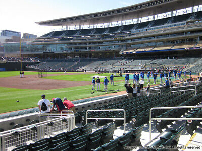 2 Tickets Cleveland Indians @ Minnesota Twins 3/30/19 Minneapolis, MN