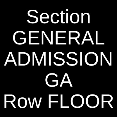 4 Tickets Citizen Cope 3/30/19 The Observatory - North Park San Diego, CA