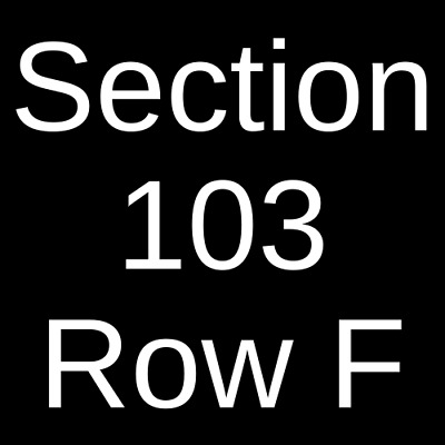 4 Tickets Kool and The Gang 4/19/19 Beau Rivage Theatre Biloxi, MS