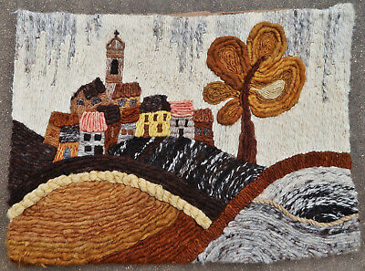 Tapestry rug carpet antique European Europe French France 1970