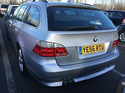 "56 Bmw 525D 2.5 Se Auto Touring - Satnav, Leather, 10 Stamps, 17"" Alloys, Lovely"