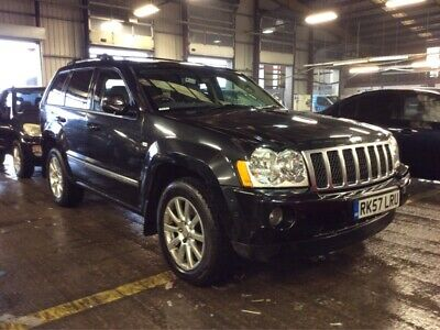 2008 Jeep Grand Cherokee 3.0 Crd Overland - Half/leather, 5 Jeep Stamps, Lovely!