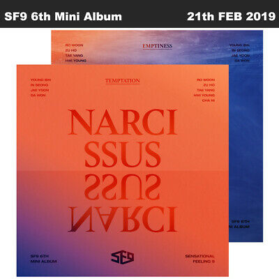 SF9 Narcissus 6th Mini Album 2SET CD+Booklet+PhotoCard+Etc+Tracking Number