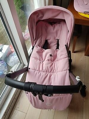 Bugaboo Soft Pink Cosytoes / Footmuff (Buggy not included)