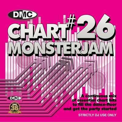DMC Chart Monsterjam Vol 26 DJ CD - Hits from February 2019 Continuous Mix