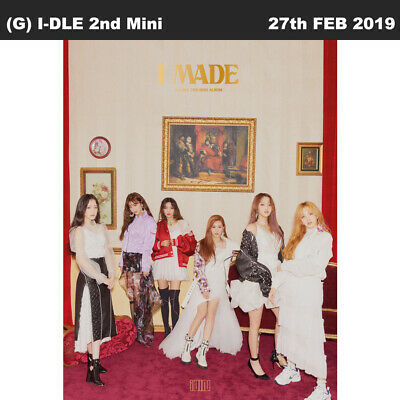 (G) I-DLE I Made 2nd Mini Album CD+Photocard+Sticker+Etc+Tracking Number