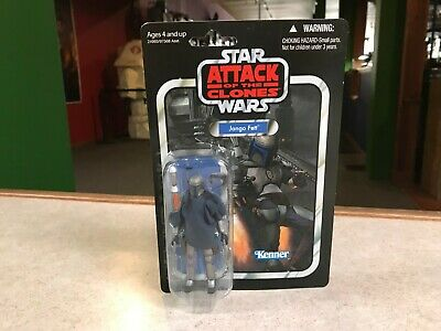 "Star Wars Vintage Collection VC34 JANGO FETT 3.75"" Action Figure NIP"