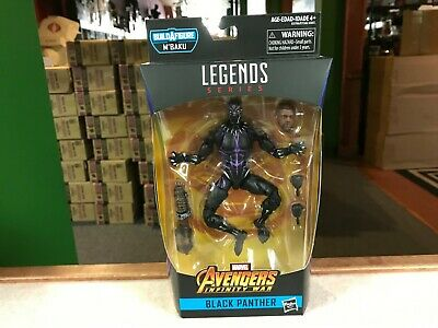 "2019 Marvel Legends M'BAKU BAF Black Panther VIBRANIUM AVENGERS 6"" Figure MOC"