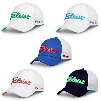 ba4a0d4e08d NEW Titleist Tour Sport Mesh Fitted Golf Hat Cap - Choose Size and Color!